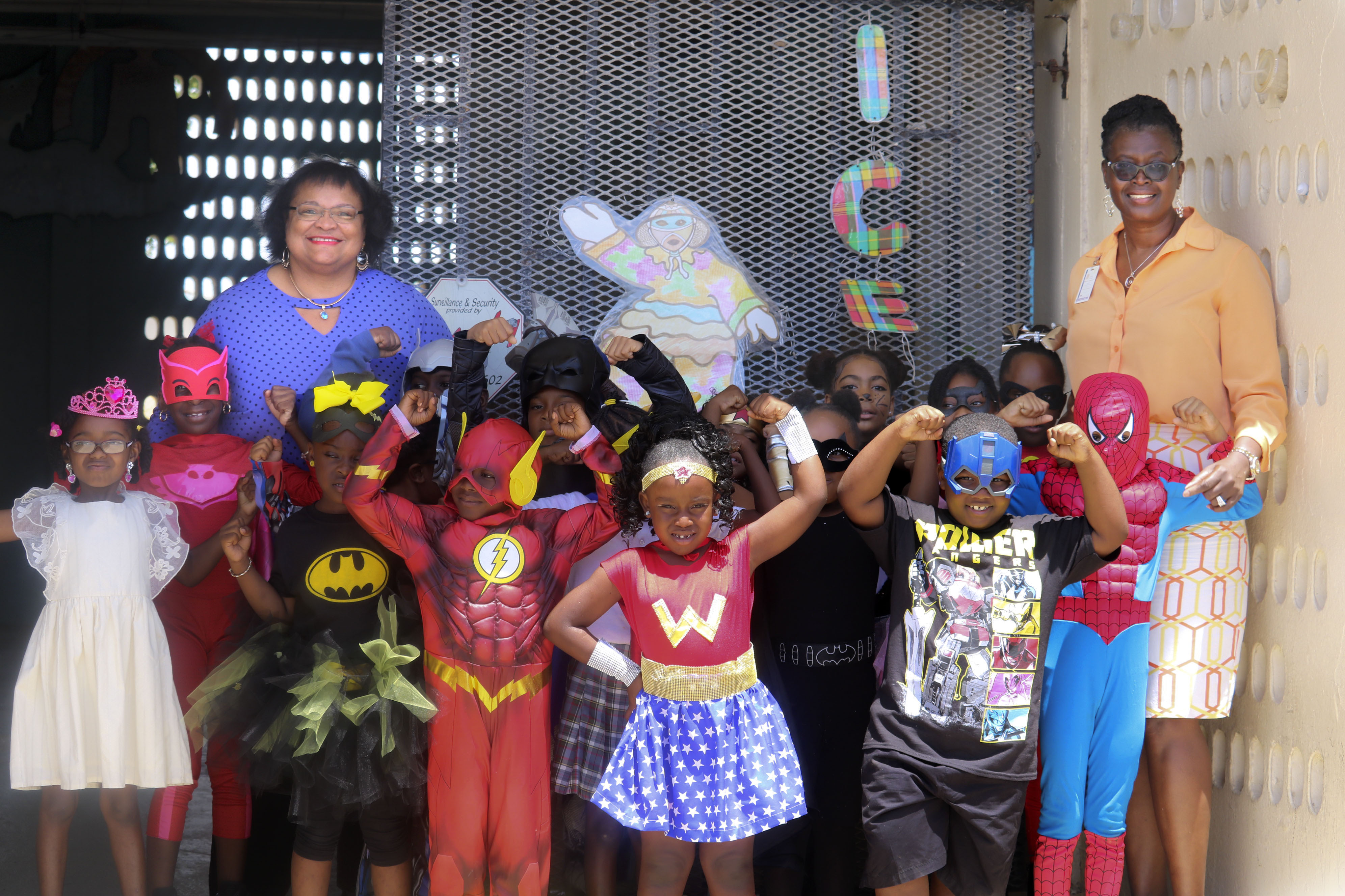STX Youngest Learners Celebrate Week of the Young Child